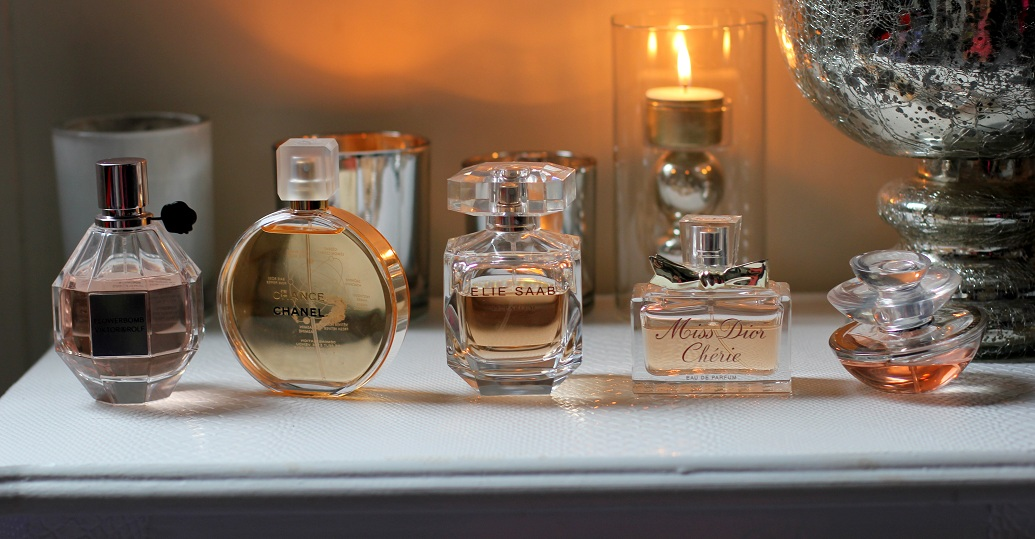 My top 5 favourite perfumes